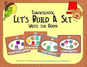 Let's Build a Set (November Edition)