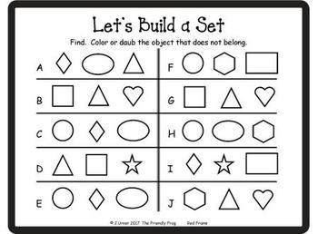 Let's Build a Set (Shapes Edition)