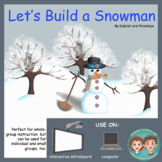 Interactive Book for Speech Therapy:  Let's Build a Snowman