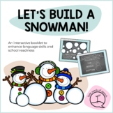 Let's Build a Snowman! Activities to Build Vocabulary and