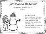 Let's Build a Snowman - An Adding Game