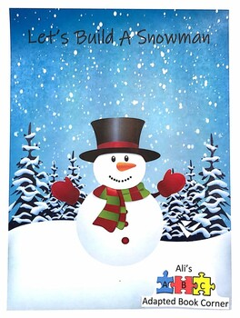 Let's Build a Snowman book for Special Ed & Autism