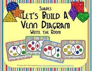 Let's Build a Venn Diagram (Shapes Edition)