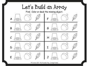 Let's Build an Array (November Edition)