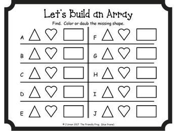 Let's Build an Array (Shapes Edition)