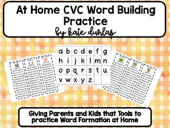 Let's Build it- CVC Word Ladders
