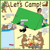 Let's Camp – Camping Puzzles Bonus Poster Distance Learning