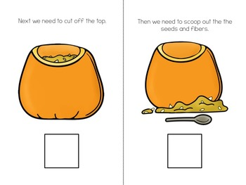 Let's Carve A Pumpkin! Adapted Book