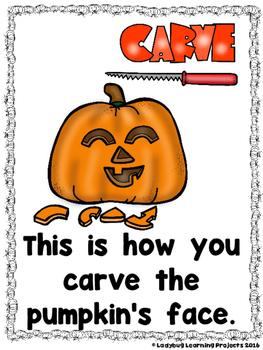 Let's Carve a Pumpkin  (A Sight Word Emergent Reader and Teacher Lap Book)