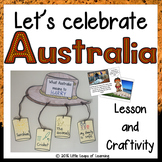 Let's Celebrate Australia: Lesson and Craftivity (Australia Day)