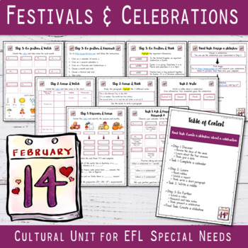 Festivals and celebrations Unit