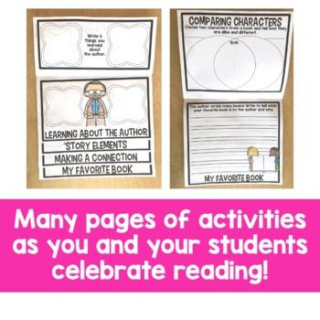 Let's Celebrate Reading Flip Up Book