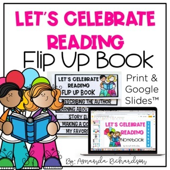 Let's Celebrate Reading Flip Up Book