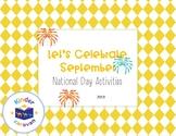 Let's Celebrate September