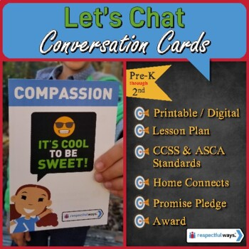 Compassion - It's Cool to be Sweet - Let's Chat Conversation Cards