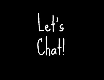 Let's Chat - Discussion Cards
