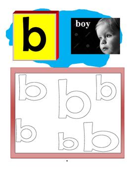 Let's Color Alphabet a - z