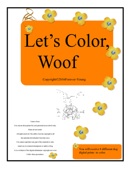 Let's Color, Woof