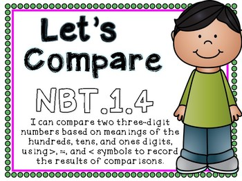 Let's Compare Prep-Free Math Stations