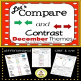Let's Compare and Contrast in Speech Therapy- December Edition