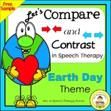 Let's Compare and Contrast in Speech Therapy- Earth Day Th