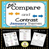 Let's Compare and Contrast in Speech Therapy- January Edition