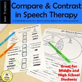 Let's Compare and Contrast in Speech Therapy- May Edition