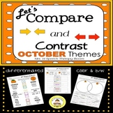 Let's Compare and Contrast in Speech Therapy- October Edition