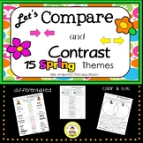 Let's Compare and Contrast in Speech Therapy - Spring Edit