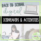 Let's Connect! - 5 Digital Back To School Activities