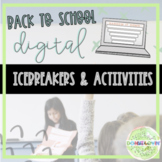 Let's Connect! - 5 Digital Back To School Activities