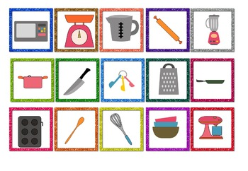 Let's Cook! Jigsaw Lesson - Kitchen Utensils and Appliances #stockupsale