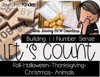 Let's Count 1:1 Counting Practice