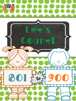 Let's Count 801-900