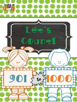 Let's Count 901-1000