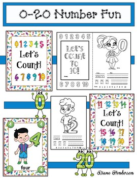 Counting Activities: Let's Count! Activities For Numbers 0-20