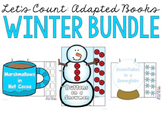 Let's Count: Adapted Books - Winter Bundle
