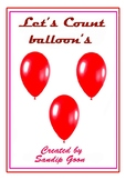 Let's Count Balloon's