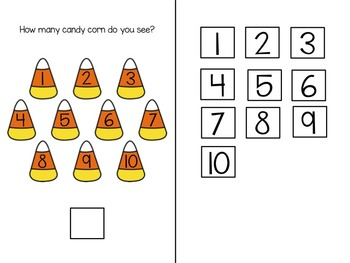 Let's Count Candy Corn! Adapted Book
