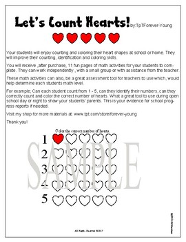 Let's Count Hearts!