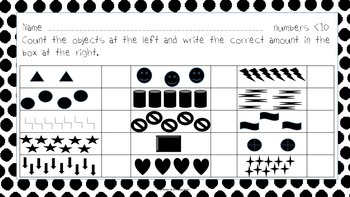 Let's Count Number Recognition