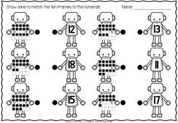 Numbers 0-30 Activities & Worksheets {Let's Count Robots!}