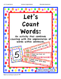 Let's Count Words: A Sentence Segmentation & Math Counting