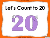 Let's Count to 20 - PowerPoint and worksheets