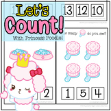Let's Count with Princess Poodle Adapted Book Counting One