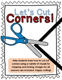 Let's Cut Corners: Cutting Skills Packet
