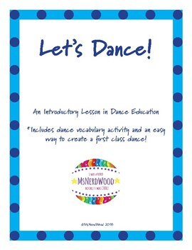 Let's Dance: An Introductory Lesson in Dance Education