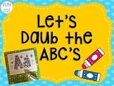 Let's Daub the ABC's