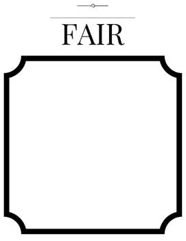 Let's Design A Fair! Creative Differentiated Instruction Flex Activity