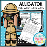Let's Discover Alligators...Paper Pencil Resource and Inte